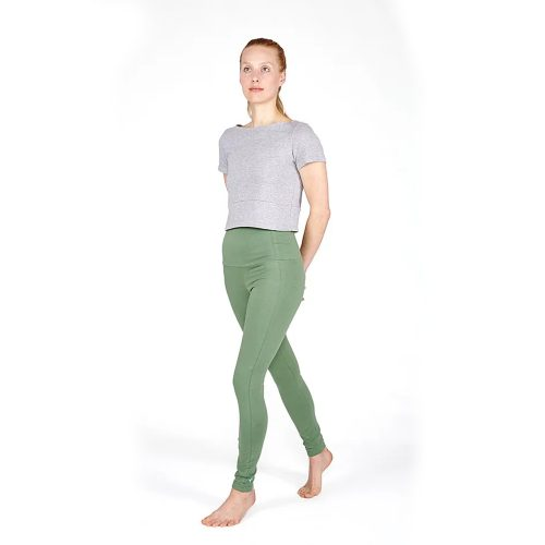 High Yoga Leggings von Yoiqi - SEA SPRAY