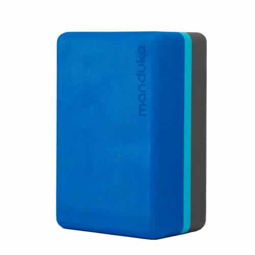 Manduka Recycled Foam Block Pacific Blue