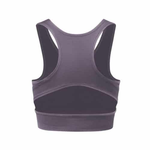 Bra Neckline von Curare Yogawear Farbe Violett