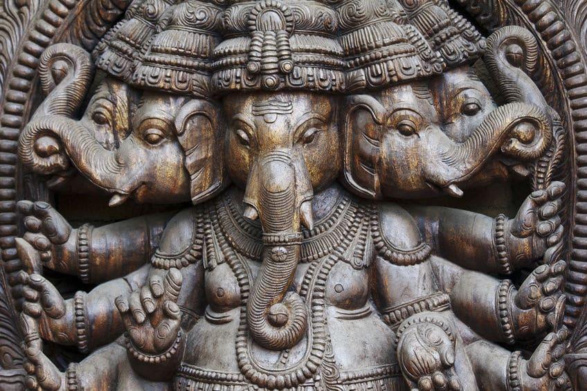 Ganesha, der charismatische Gott mit dem Elefantenkopf