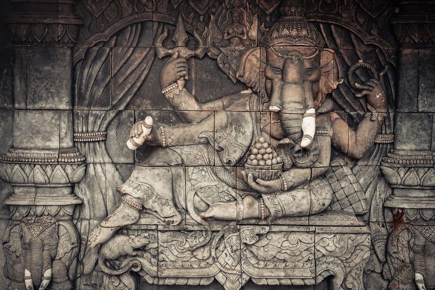 Welche Symbole zeichnen Ganesha aus?