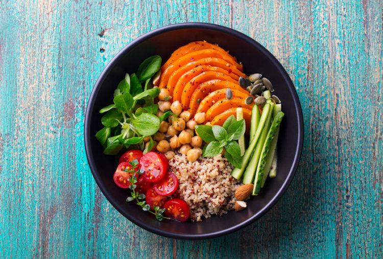 Abnehmen mit Ernährung für Yogis