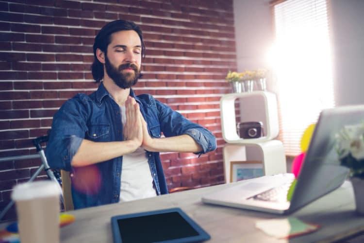 Mit Yoga auch in stressigen Phasen eine Oase der Ruhe finden