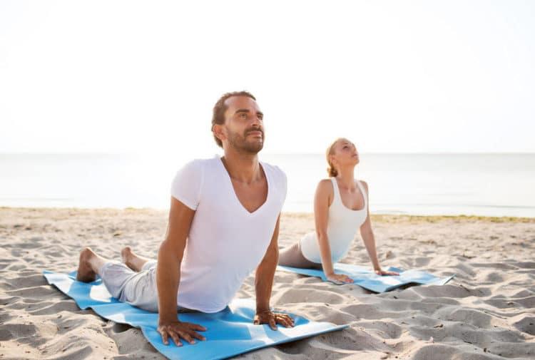 Was bringt Yoga für Männer