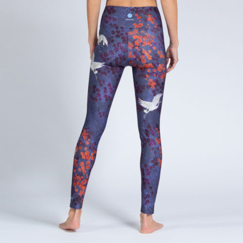 Yoga Leggings Happy Birds von Magadi