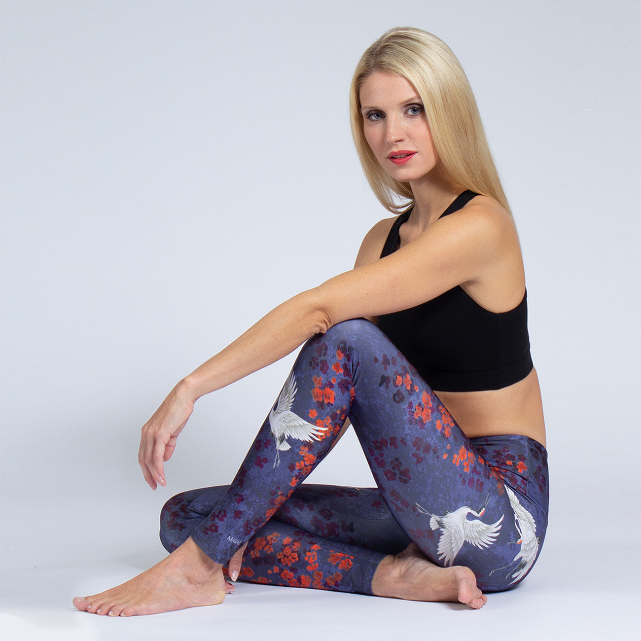 Yoga Leggings Happy Birds von Magadi