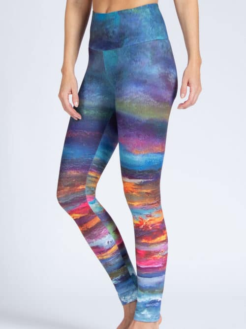 Yoga Leggings Horizon von Magadi