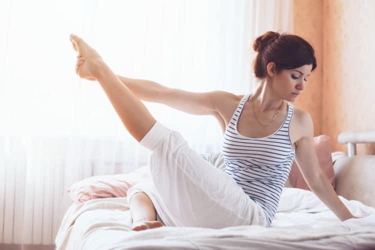 Yoga am Morgen Mehr Lebensfreude und Energie