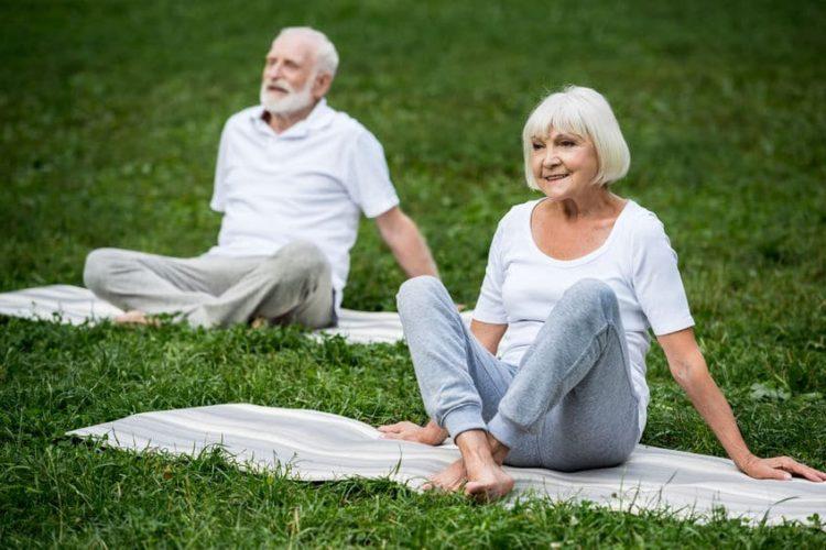 Meditation ist ein wichtiger Teil des Yogas