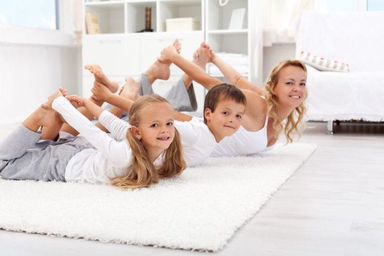 Yoga-Übungen für Kinder